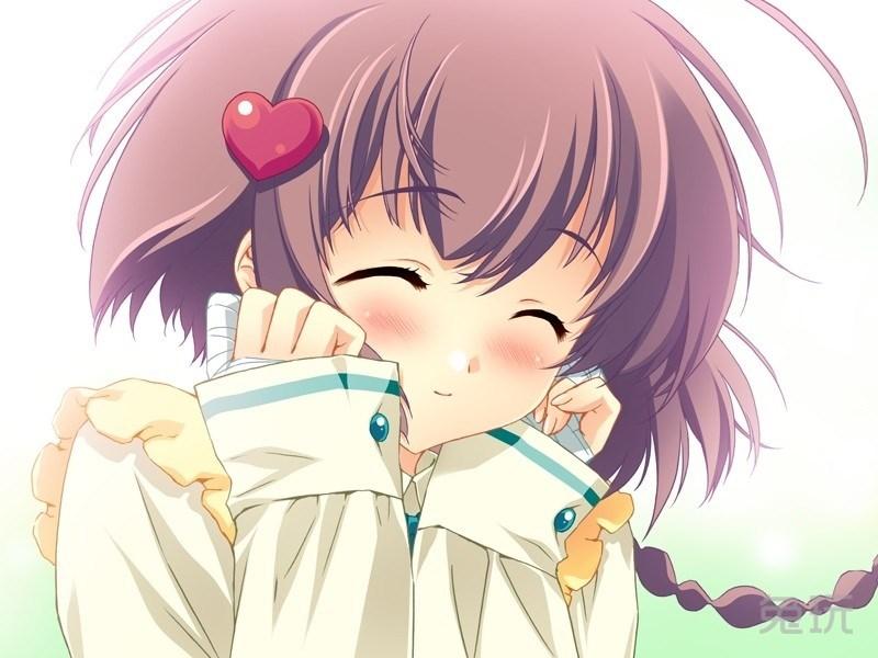 微笑娘/微笑开朗的动漫女孩(3)