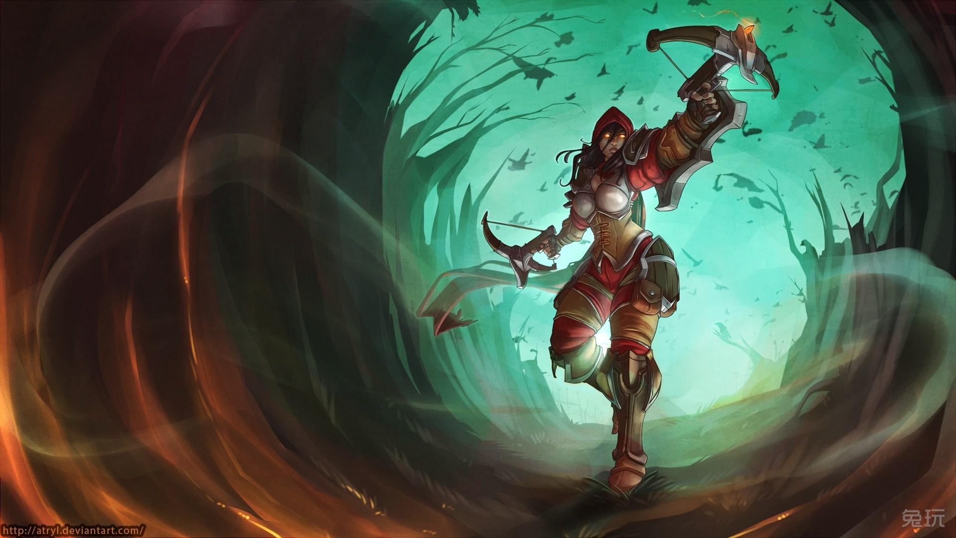 暴英雄玩家创作高清人物 壁纸 (5)-正义的化身 风暴英雄 大天使泰