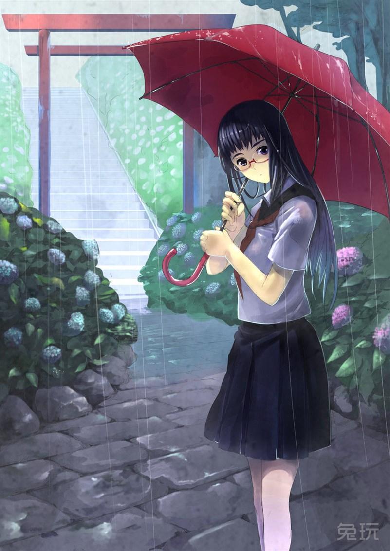 下雨天动漫图片(17)