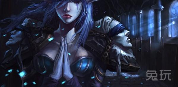魔兽世界5.4暗牧天赋雕文及输出手法