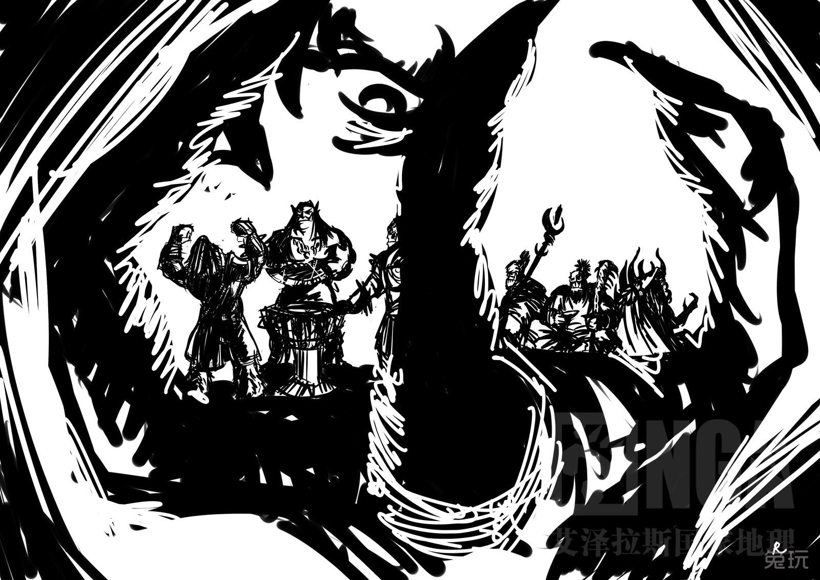 魔兽世界部落素材