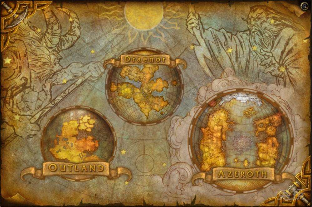 魔兽6.0德拉诺之王地图曝光