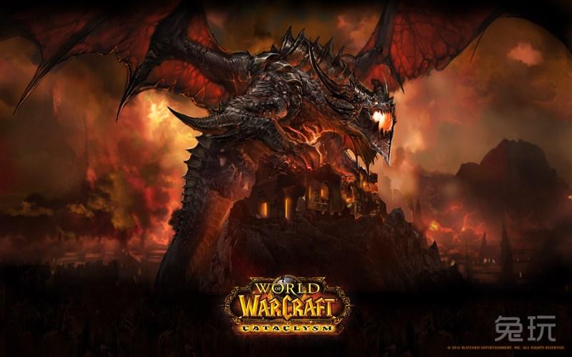 魔兽世界高清壁纸分享:死亡之翼