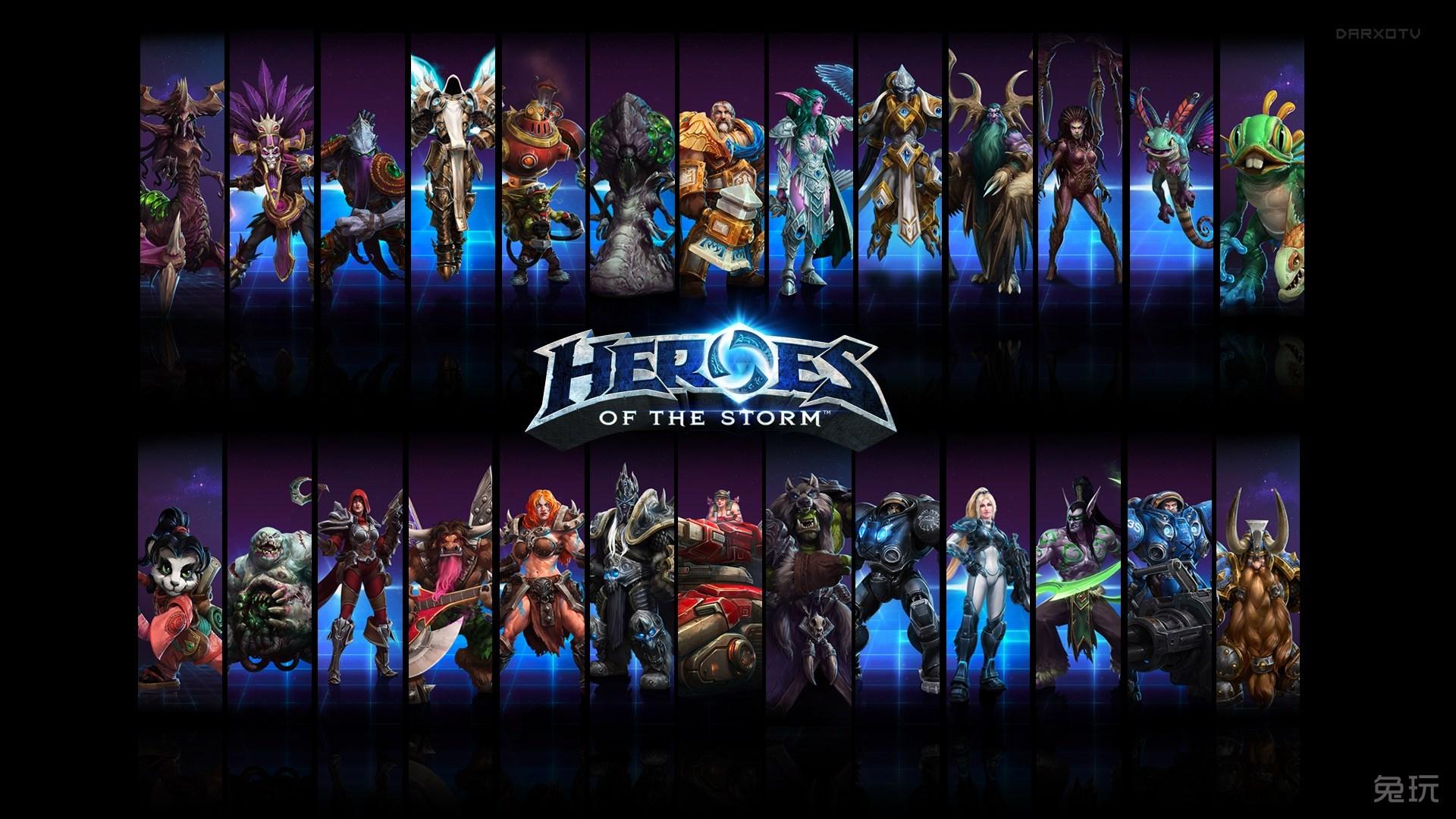 风暴英雄游戏高清 电脑 桌面 壁纸 高清大图预览1280 风暴英雄英雄高