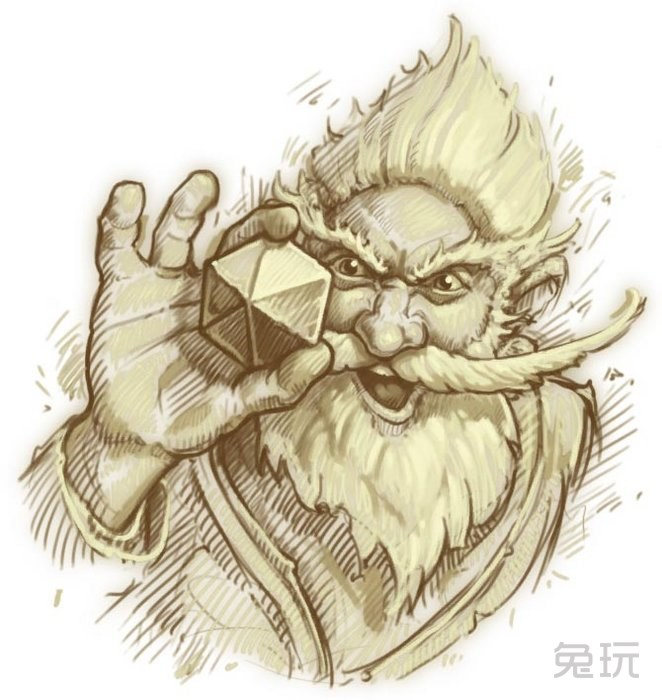 炉石传说手绘稿法力风暴