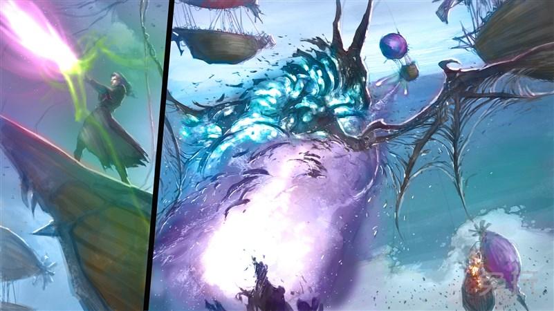 百式愚者:画《冰霜巨龙被打碎了!》图片