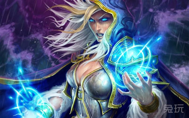 吉安娜是团结艾泽拉斯各族携手对抗燃烧、天灾军团的关键人物,在原来也是没被摧毁之前塞拉摩的统治者,现任肯瑞托的领袖。