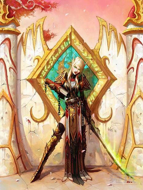 圣骑士产卵记漫画大全_圣骑士前瞻:德拉诺之王中有25个独特天赋